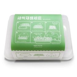 베란다레시피 새싹재배세트 건강새싹키우기2 (3종)