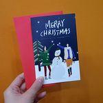 너와나 크리스마스 카드