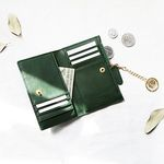 [골드링 증정] D.LAB Coin Card wallet  - Green