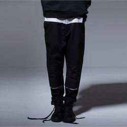 M.N.I. T-P1 BLACK 시그니처 슬랙스