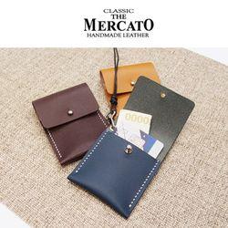 [메르카토]덮개지갑목걸이 만들기 가죽공예DIY