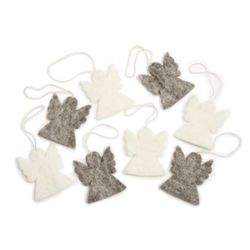 Angels Ornament Set of 8pcs