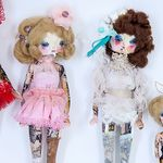FACTORY GIRL:: COLLAGE DOLL