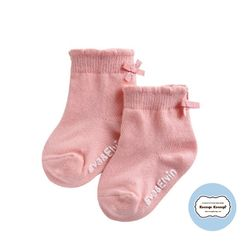 쁘띠리본양말(핑크)