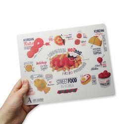 아트숨비-최지수 K-street food 마우스패드