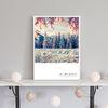 [Snow Tree] 포스터 50x70cm [액자미포함]