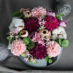 폼폼 목화 꽃킷리스트