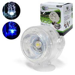 피쉬가드 버블 LED 수중등(화이트)/기포장식 수중램프