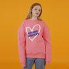 Love sweatshirts-pink(노기모)