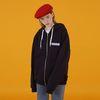 Ncover hoodie zipup-navy(기모)