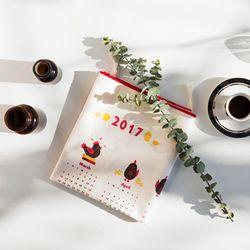 2017 땡큐 캘린더