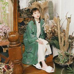 아멜리 실크 로브 : Amelie silk robe