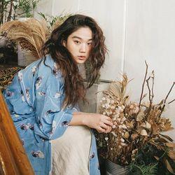 마벨 실크 로브 : Mabelle silk robe