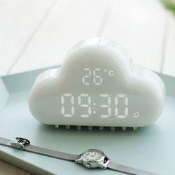 Glossy 구름 LED 알람시계 ver.2