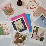 Rollco Christmas Polaroid Card Set