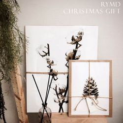 크리스마스 선물 기획 인테리어 액자 포스터 A4 택1