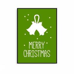 크리스마스액자 거실 북유럽 포스터 징글벨 [중형]