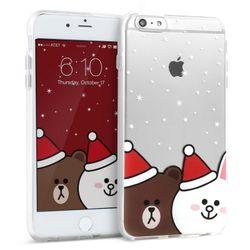 디자인스킨 아이폰6S플러스 라인프렌즈 크리스마스