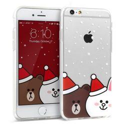 디자인스킨 아이폰6S6 라인프렌즈 크리스마스
