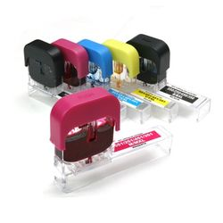[캐논750 751 5색] 원터치 자동 잉크 충전기