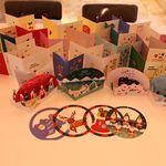 MILLO 크리스마스 원형모빌카드 4종 + 카드14종 세트