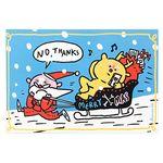 땡큐스튜디오 X 토마쓰리Santa Claus & Rudolf Card