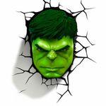 어벤저스-헐크 마스크(얼굴) 3D 데코라이트