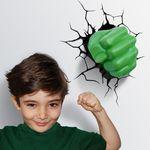 어벤저스-헐크 핸드(주먹) 3D 데코라이트