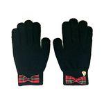 체크 리본 장갑 (Check Ribbon Gloves)