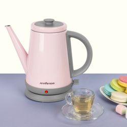 커피드립 마카롱 전기주전자 JR-K3805PG 핑크