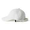 Bubilian long strap ball cap [white]
