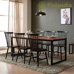핀란디아 베젤 6인식탁세트(의자6)