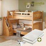핀란디아 스마트 2층침대 계단형+견면매트