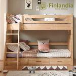 핀란디아 디바인 2층침대(서랍형)+견면매트