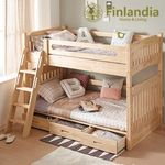 핀란디아 디바인 2층침대(서랍형)+포켓매트
