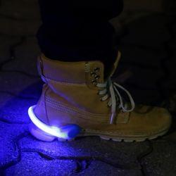 LED 슈즈 셔플클립 (블루)