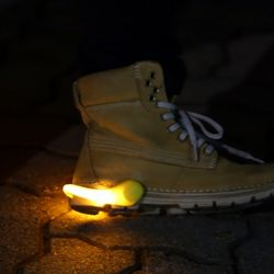 LED 슈즈 셔플클립 (옐로우)