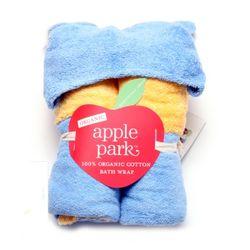 [애플파크]오가닉 꿀벌 유아 목욕가운 TM355