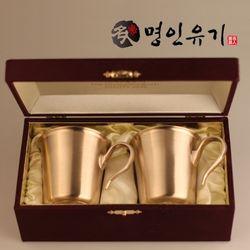 [명인유기] 손잡이컵 2인 선물세트
