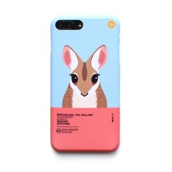 왈라비 멸종위기동물 케이스 아이폰7Plus/8Plus