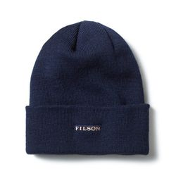 [필슨]- WOOL CUFF CAP 60198 (Navy)