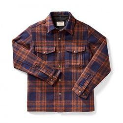 [필슨]- Mackinaw Jac Shirt 10788 (Brown Plaid)