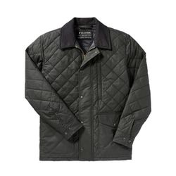 [필슨]- Quilted Mile Marker 10773 (Navy Grey)
