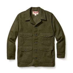 [필슨]MACKINAW CRUISER SEATTLE FIT (Forest Green)