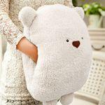 곰인형 핸드워머 Polar Bear 쿠션 담요 Blanket