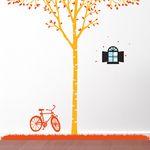[나무]자작나무싱글-스카이빈티지윈도우&자전거