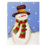 크리스마스카드 -Santa and Snowman (Snowman)