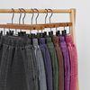 [남녀공용] 60수 고무밴드 바지-순면 솜누빔-6color