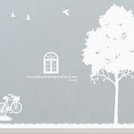 [나무] 스위트 트리 - 자전거 & 창문