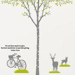 [나무] 자작나무 싱글- 자전거 & 사슴